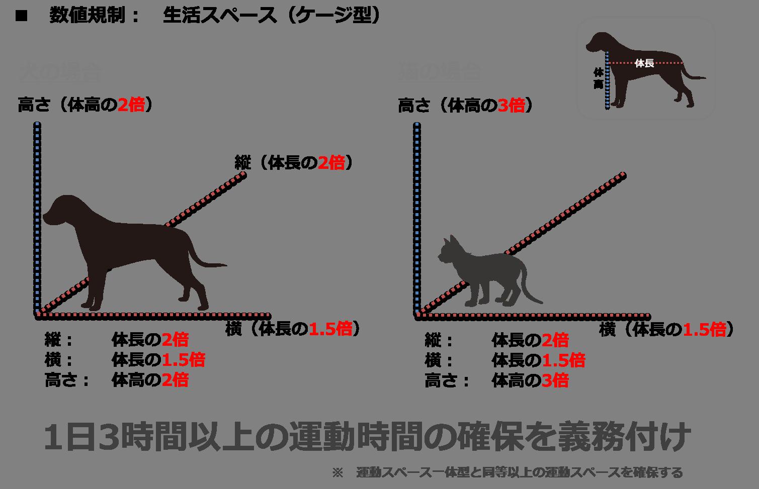 数値規制(ケージ)